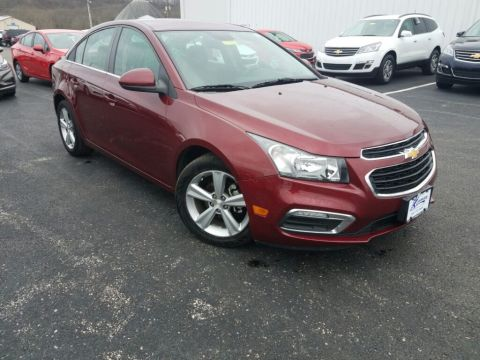 Pre-Owned 2015 Chevrolet Cruze 2LT FWD 4D Sedan